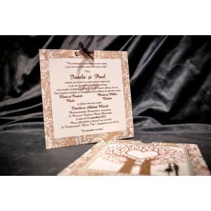 Invitatie de nunta 020 BUKET-BEST