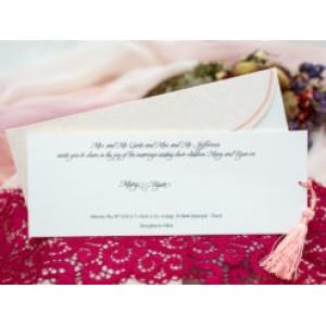 Invitatie de nunta baroc 133