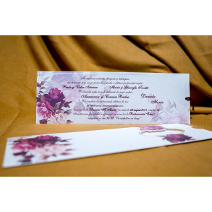 Invitatie de nunta 4001 BUKET-BEST