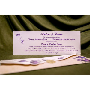 Invitatie de nunta 4006 BUKET-BEST