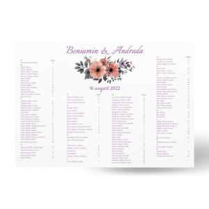 Lista de invitati - L62