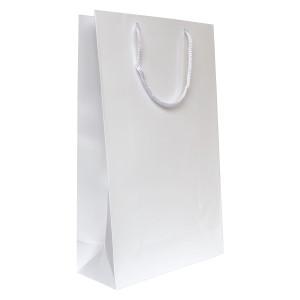 Punga cadouri plastifiata E mare alba