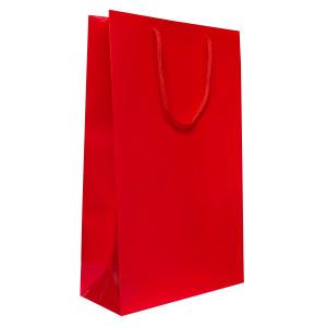 Punga cadouri plastifiata E mare rosie