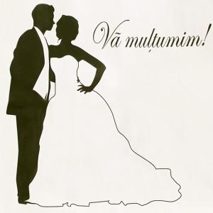 Punga nunta alba cu miri in alb si negru PN 10030