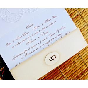 Invitatie vintage 31316 CLARA