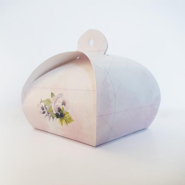 Cutiuta mica marturii model sic cu flori CN 2012