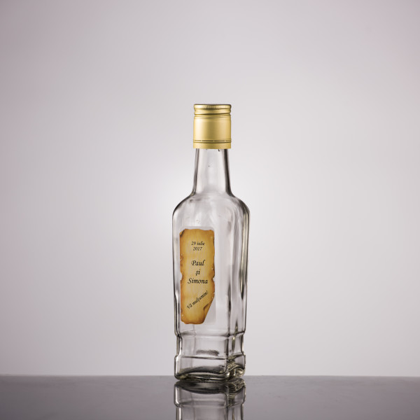 Sticla marturii 250 ml Stof 1