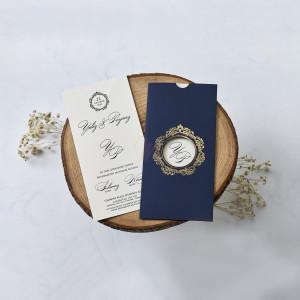 Invitatie de nunta vintage 1168 BUTIQLINE