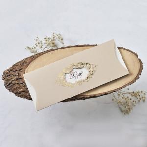 Invitatie de nunta in stil baroc 1178 BUTIQLINE