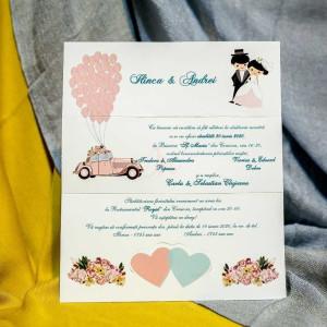 Invitatie de nunta 228 NEW BEST