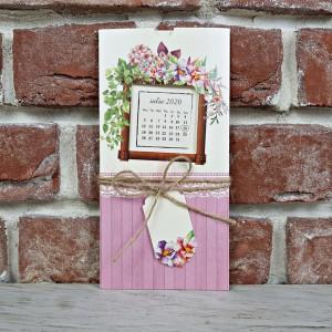 Invitatie de nunta cu fundita si calendar 5609 CONCEPT