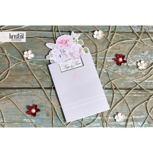 Invitatie de nunta florala 70312 KRISTAL