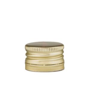 Capac aluminiu auriu prefiletat D 31.5*24 mm