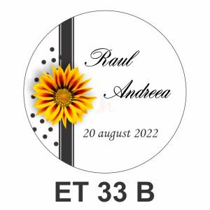 Eticheta mica ET 33 B