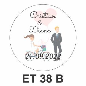 Eticheta mica ET 38 B