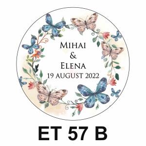 Eticheta mica ET 57 B