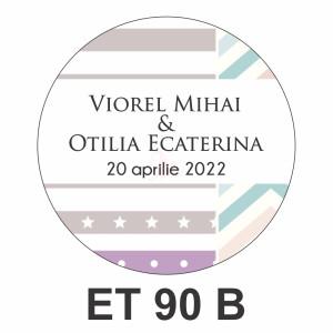 Eticheta mica ET 90 B