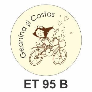 Eticheta mica ET 95 B