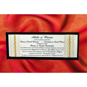 Invitatie de nunta 1066 BEST