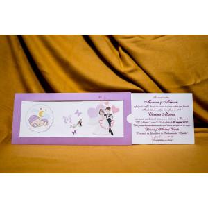 Invitatie de nunta 5021 BUKET-BEST