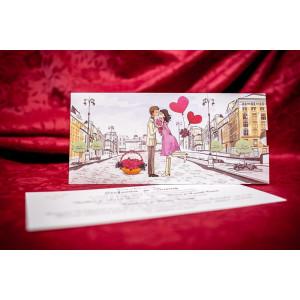 Invitatie de nunta 5023 BUKET-BEST