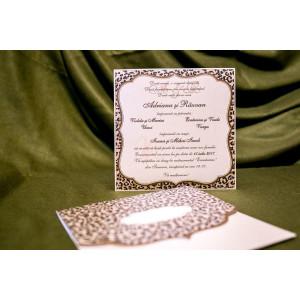 Invitatie de nunta 5029 BUKET-BEST