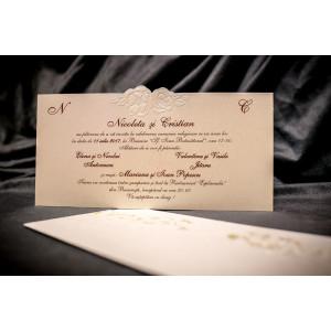 Invitatie de nunta 6028 BUKET-BEST