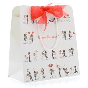 Punga nunta din carton plastifiat miri haiosi PT 13