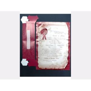 Invitatie tip papirus 32428 EMMA