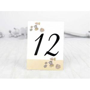 Numar de masa cu floricele 1103 DELUXE