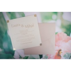 Invitatie de nunta clasica 1149 BUTIQLINE