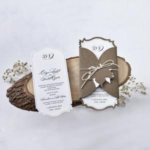 Invitatie nunta de toamna 1187 BUTIQLINE