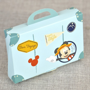 Invitatie de botez travel cu Mickey Mouse 15700 DELUXE