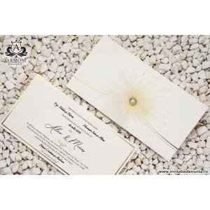 Invitatie boho-chic pufoasa 19336 ARMONI