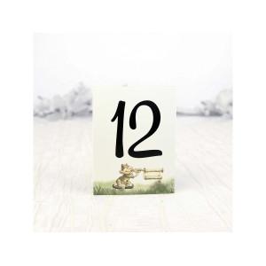 Numar de masa cu spiridus 2110 DELUXE