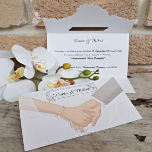 Invitatie de nunta 2630 POPULAR