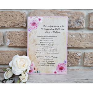 Invitatie de nunta 2746 POPULAR