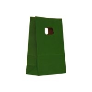 Punga M mica 14x7x21 cm verde inchis 311628