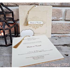 Invitatie de nunta eleganta 3706 SEDEF