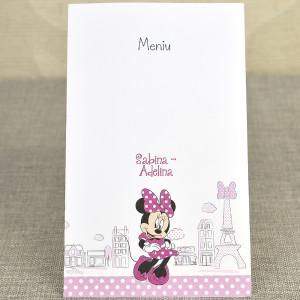 Meniu Minnie in Paris 3728 DELUXE