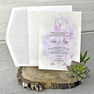 Invitatie cu tema florala 39304 EMMA