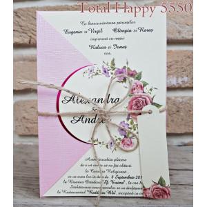 www.invitatiedenunta.ro_Invitatie_de_nunta_florala_cu_funda_din_sfoara_5550_CONCEPT