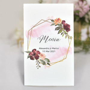 Meniu floral 6708 CLARA