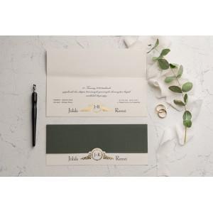 Invitatie de nunta baroc 9146 EKONOM