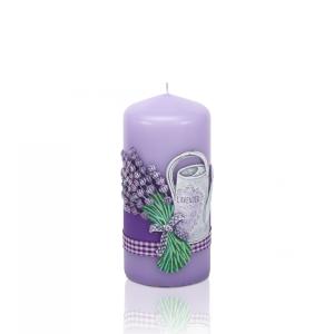 Lumanare parfumata Stalp de Gradina Lavanda BC5573
