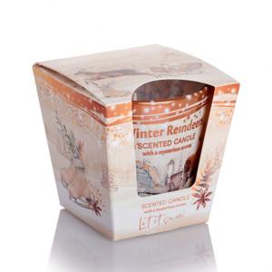 Lumanare parfumata Renii de Iarna 115 g BC6341