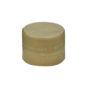 Capac plastic prefiletat auriu D 28 mm