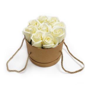 Aranjament Cadou cu Flori de Sapun Parfumate DEC105