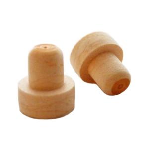 Dop tip cognac plastic sintetic 17*20 mm