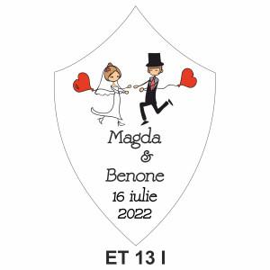 Eticheta pentru sticla ET 13 I